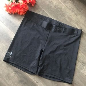 Women's Black Adidas Techfit Compression Shorts
